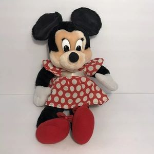 Vintage Disney Applause Minnie Mouse Plush Doll